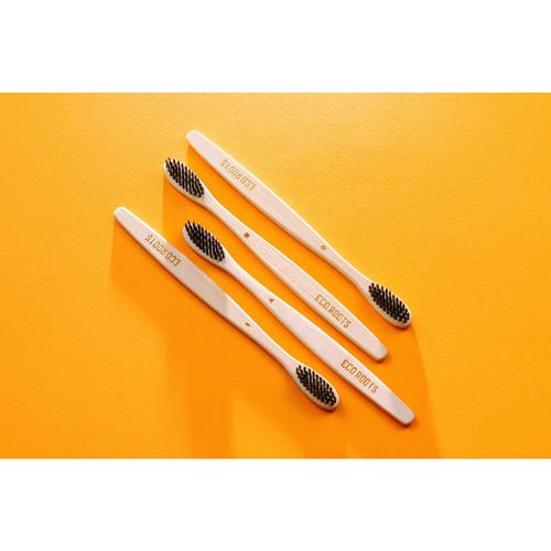 竹製歯ブラシ4本セット